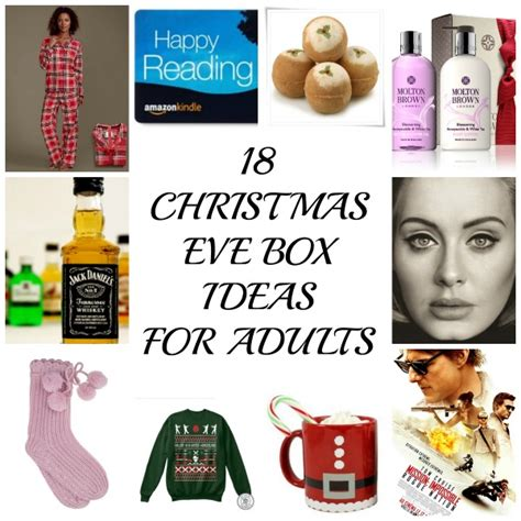 18 christmas eve box ideas for adults because everyone