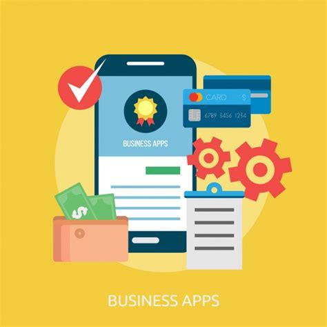 app design vector download business apps background design vector free download