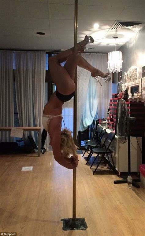 sexy dance in bedroom pole dancing mum from sydney s north shore shares her