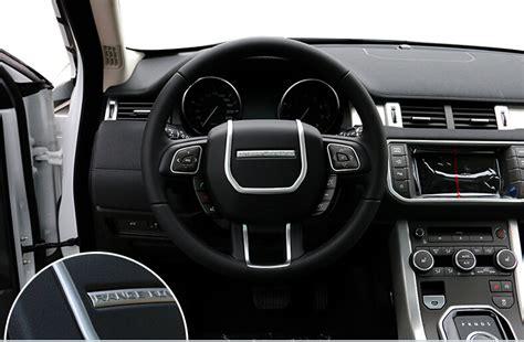 Land Rover Evoque Tank Chrome Garnish chrome steering wheel cover trim for land rover range