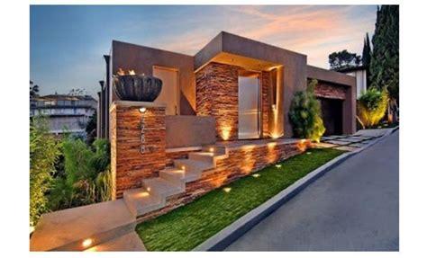 elegante colores de fachadas de casas de campo
