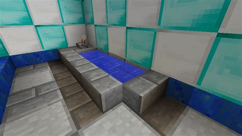 how to make a bathroom minecraft minecraft furniture bathroom a minecraft bathroom design
