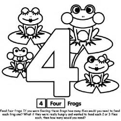 number 4 coloring page crayola com