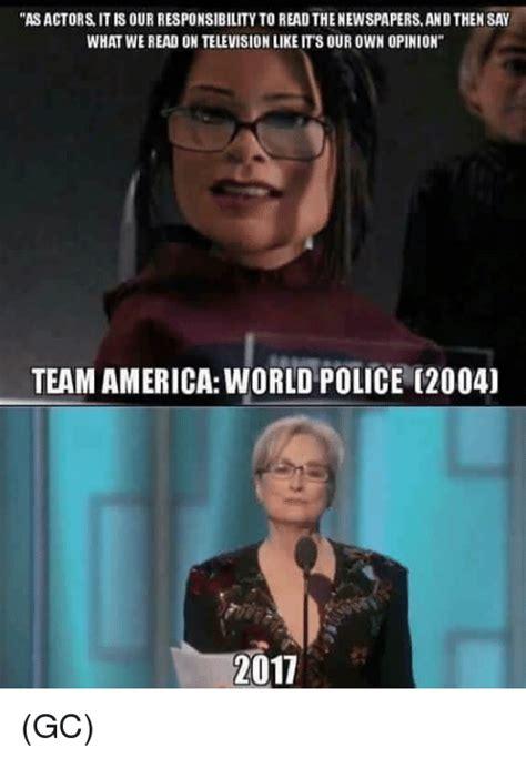 Team Memes - 25 best memes about team america world police team