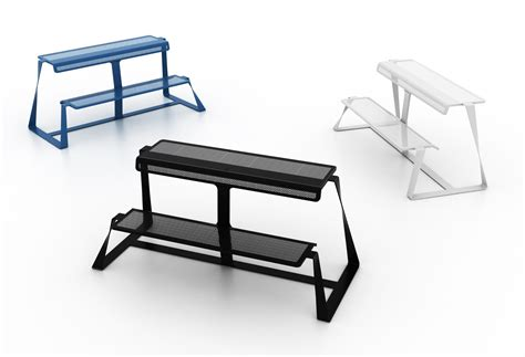 designer bench metal bench t bench by altreforme design be bold design studio