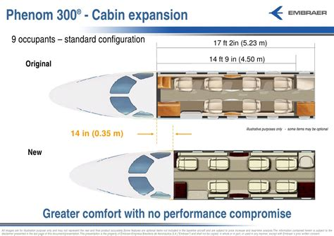 Phenom 300 Cabin by Air Show Executive Jet