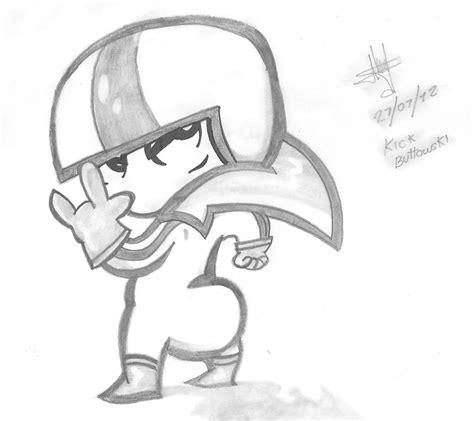 imagenes de kick buttowski para dibujar faciles mis dibujos arte taringa