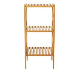 buy collection two tier bathroom shelving unit bamboo at