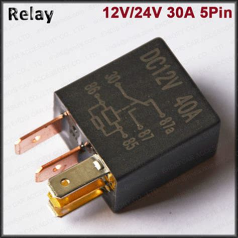 new era battery relay relay 12v 24v 40a violet relay