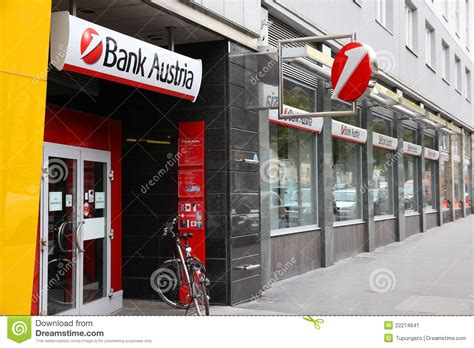 bank austrua bank austria editorial photo image 22274641