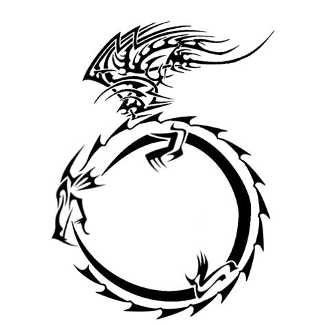tattoo designs dragon tribal images designs