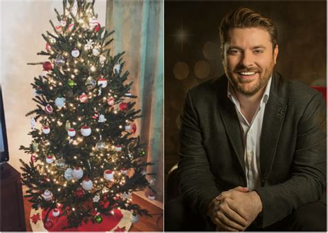 for chris young decorating the christmas tree is a family
