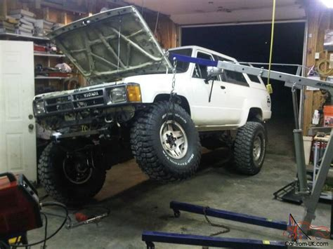 Toyota Solid Axle 1987 Toyota 4runner 4x4 Solid Axle Sas Images Frompo
