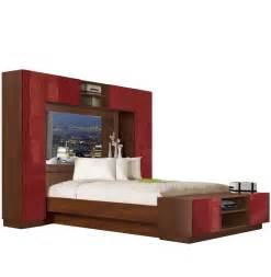 chilton pier wall bed with mirrored headboard contempo space master bedroom with painted wall quot headboard quot eclectic