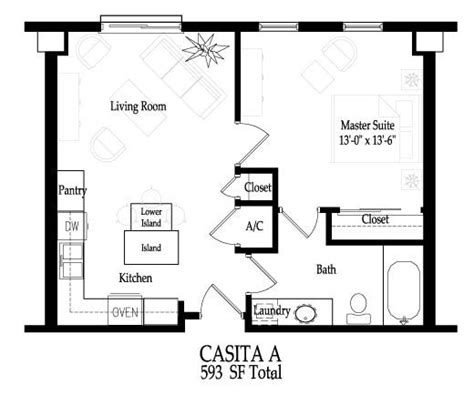 casita floor plans az small casita floor plans casita home plans 187 home plans