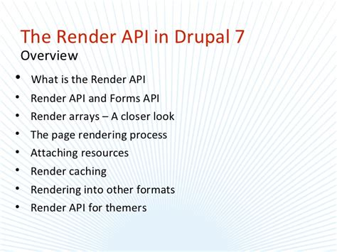 drupal render the render api in drupal 7