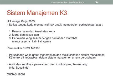 Ergonomi Dan K3kesehatan Keselamatan Kerja Wowo ppt macro ergonomi keselamatan dan kesehatan kerja