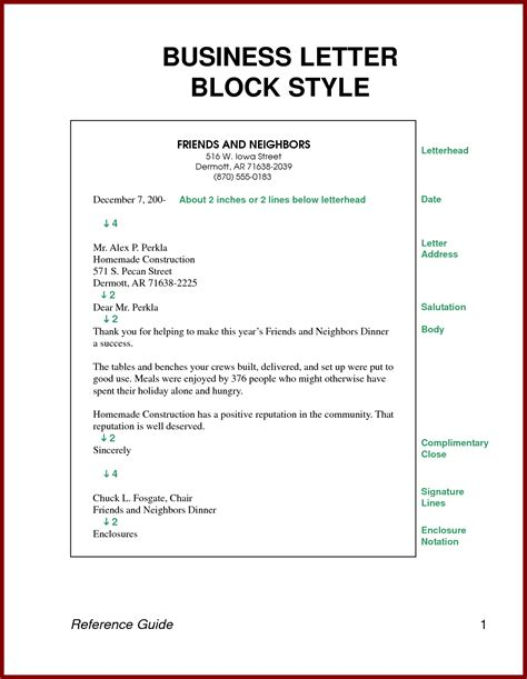 Direct Request Business Letter Block Style request letter modified block style cover letter templates