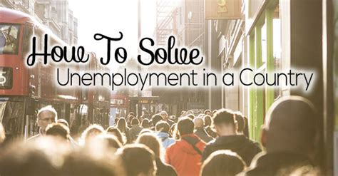 I Am An Mba And Unemployed by How To Solve Unemployment In A Country Best Tips Wisestep