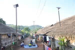 Solar Lighting For 600 Burmese Refugees Thailand Solar Lights Thailand