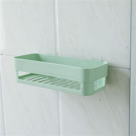 Plastic Kitchen Bathroom Shower Shelf Storage Basket Caddy Bathroom Caddy Storage