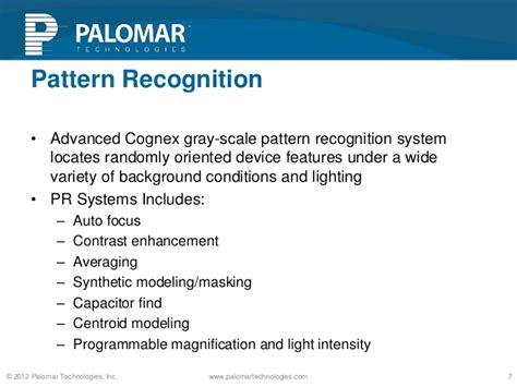 pattern recognition technologies inc 3800 die bonder overview