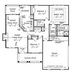 single level floor plans one level house plan