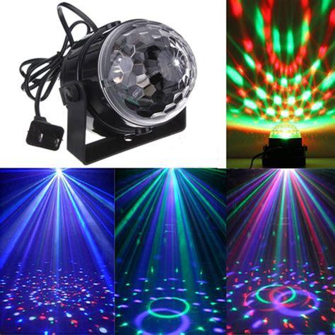 mini disco ball light mini rgb led party disco club dj light crystal magic ball