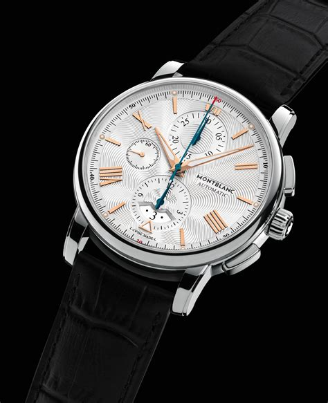 Montblanc Chonograph 1 montblanc 4810 collection sihh 2016 110 anniversary horobox
