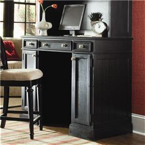American Drew Camden Dark Side Table With Woven Basket Camden Drop Lid Desk