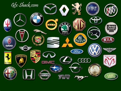all car logos and names in the world pdf all logos car company logos