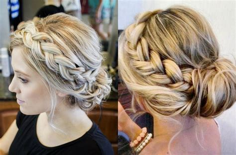 Wedding Hairstyles Braids Low Bun by Braid Into Low Bun Hairstyles Tale Braided Updos