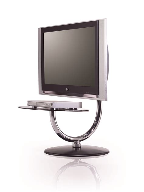 pedestal tv stand stainless steel tv stand with swivel mount and
