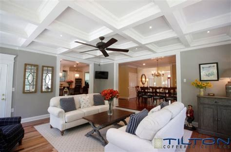 Coffered Ceiling Great Room