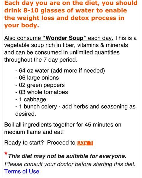Term Detox Diet Plan by 7 Day Cabbage Soup Diet Recipe Carolyn Rosario