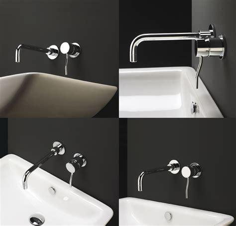 rubinetti a parete bagno miscelatore lavabo incasso kusasi