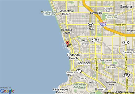 california map redondo portofino hotel and yacht club redondo deals see