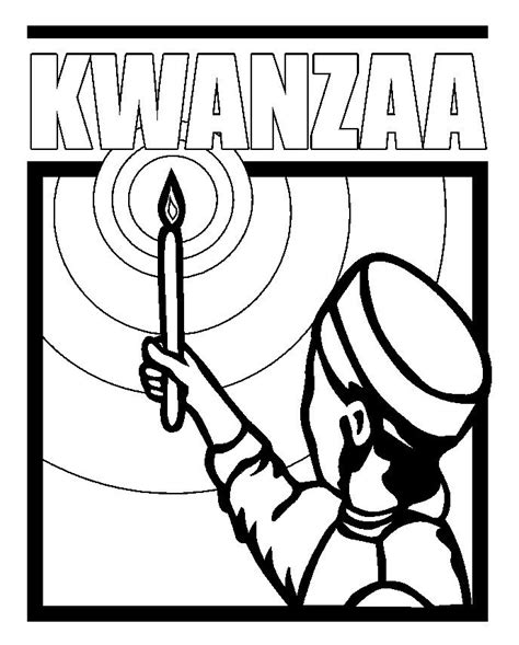 coloring pages of kwanzaa symbols kwanzaa coloring page thinking day ideas pinterest
