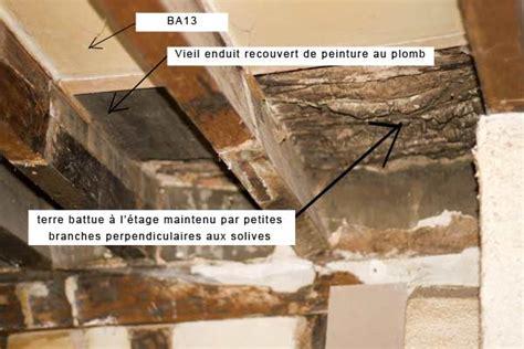 Comment Faire Enduit Plafond by Enduit Chaux Entre Solives Au Plafond Forum Charpente