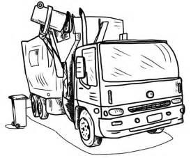 garbage truck coloring page truck coloring pages garbage truck printable coloringstar