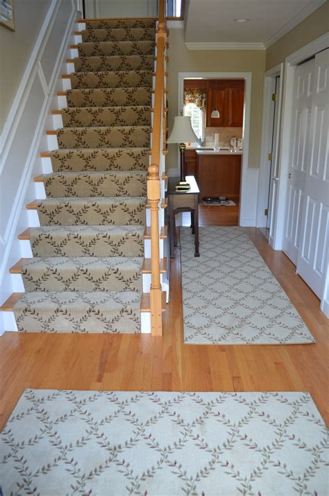 rug runners for stairs needham rug norfolk custom stair runner the carpet workroom
