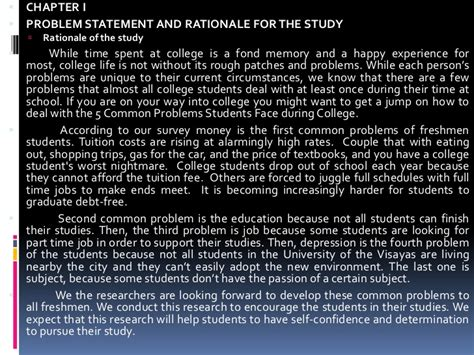 rationale exle in thesis thesis