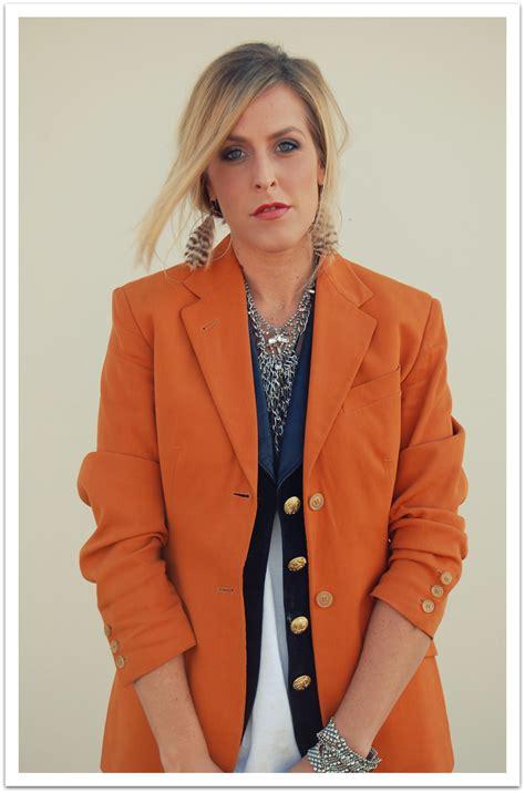 Blazer Orange blazer orange