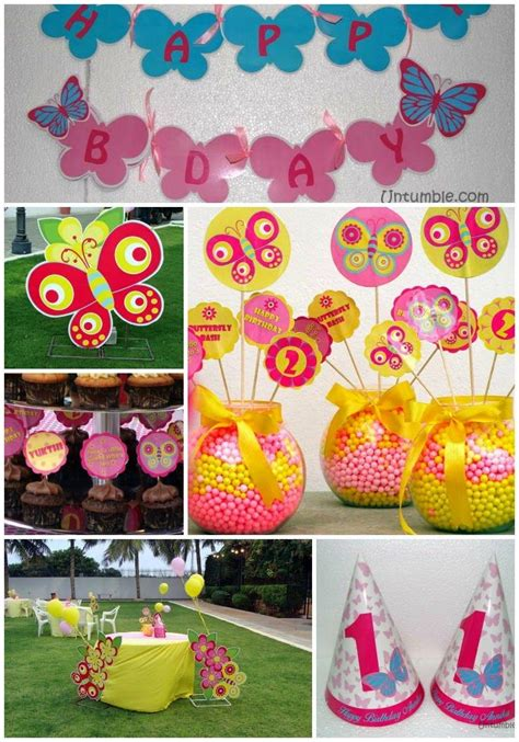 butterfly themed birthday party food desserts events 34 creative girl first birthday party themes ideas