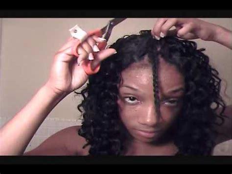 deep wave hair tutorial pt.2 of 3 youtube