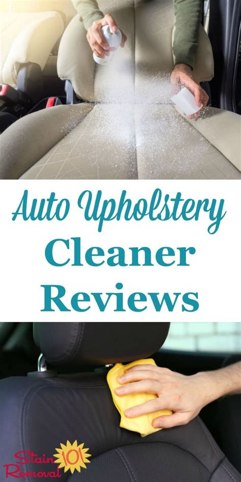car upholstery cleaner reviews 17 best ideas about car upholstery cleaner on pinterest