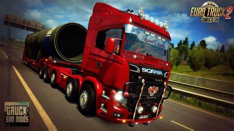 mod games euro truck simulator 2 scania illegal v8 reworked euro truck simulator 2