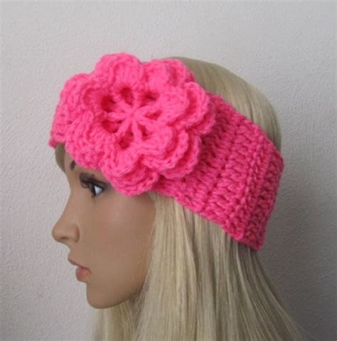 knitting pattern for headbands with flower 8 knitted headband with flower patterns the funky stitch