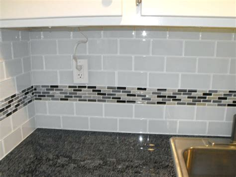 blue subway tile backsplash glass subway tiles tilestile countertops grey and white kitchen backsplash subway tile