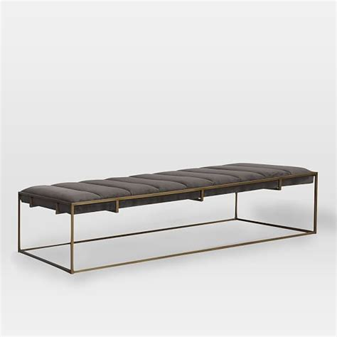 upholstered ottoman bench 25 best ideas about upholstered dining bench on pinterest